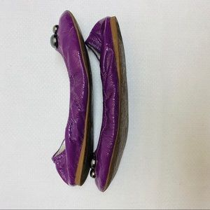 Gianni Bini Shoes - Purple Embellished Gianni Binni Flats Size 9.5